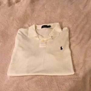 Men's White Polo XXL